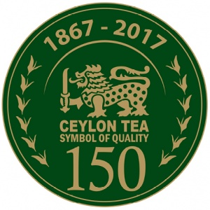 logo 150 years ceylon tea only