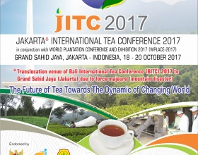 World Plantation Conferences and Exhibition 2017 (WPLACE-2017) Hotel Grand Sahid Jaya (Jakarta) – Indonesia, 18-20 October 2017