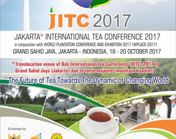 World Plantation Conferences and Exhibition 2017 (WPLACE-2017) Hotel Grand Sahid Jaya (Jakarta) – Indonesia, 18-20 October 2017